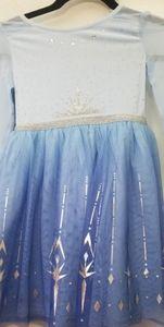 New Elsa Frozen  princess dress with cape
